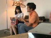 Teen Nozomi Aiuchi banged from behind and gets creampied