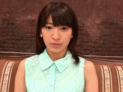 Tied up Asian teen Ruri Narumiya gets multiple facial cumshots