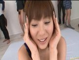 Yuma Asami Asian model gives an amazing blowjob!