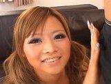 Japanese AV model is a lovely teen who likes sucking cock