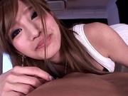 Astounding porn scene with young Erika Shibasakiasian ass, asian pussy}