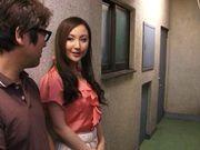 Lovely milf chick Kaori Saejima has her big tits fucked