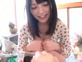 Naughty Ai Uehara likes sucking hard cock picture 6