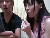 Fancy Japanese milf Moeka Nomura moans from getting orgasm picture 13