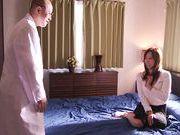 Kaori hottest housewife enjoys plenty of cock