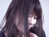 Japanese AV Model POV tit licking and pussy stimulation