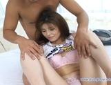Yuzuru Beautiful Japanese babe likes riding on cock
