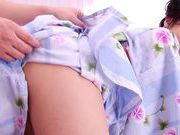 Kinky Japanese in sexy kimono shows nice bodynude asian teen, asian wet pussy}