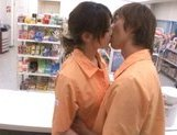 Marimi Natsuzaki Cute Japanese babe likes getting fucked in the supermarket picture 10