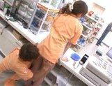 Marimi Natsuzaki Cute Japanese babe likes getting fucked in the supermarket picture 14