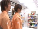 Marimi Natsuzaki Cute Japanese babe likes getting fucked in the supermarket picture 3