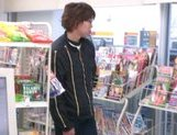 Marimi Natsuzaki Cute Japanese babe likes getting fucked in the supermarket picture 4