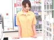 Marimi Natsuzaki Cute Japanese babe likes getting fucked in the supermarket