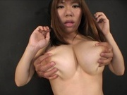 Fantastic Asian bombshell Iroha Suzumura shows off titfuck actionasian schoolgirl, fucking asian}