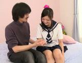 Japanese schoolgirl Kokomi Suzuki gets nailed hard picture 11