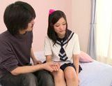 Japanese schoolgirl Kokomi Suzuki gets nailed hard picture 12