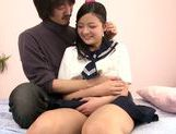 Japanese schoolgirl Kokomi Suzuki gets nailed hard picture 13