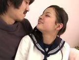 Japanese schoolgirl Kokomi Suzuki gets nailed hard picture 15