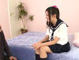 Japanese schoolgirl Kokomi Suzuki gets nailed hard picture 1