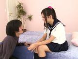Japanese schoolgirl Kokomi Suzuki gets nailed hard picture 2