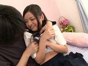 Japanese schoolgirl Kokomi Suzuki gets nailed hard