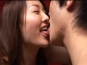 Mai Uzuki Hot Asian chick enjoys sucking her boyfriend's dick