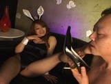 Mai Asian model is hot in her bunny outfit picture 3
