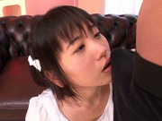 Nasty threesome adventure with teen Kimino Yuna