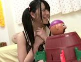 Delicious young beauty Ai Uehara fondles her wet pussy