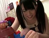 Delicious young beauty Ai Uehara fondles her wet pussy picture 7
