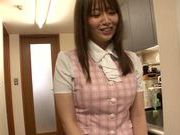 Sexy Japanese chick Hana Nonoka gets screwed in the office