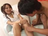 Miina Naughty Asian gal gets a hard fucking picture 10