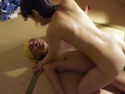 Superb cock riding scene with slim Tsuna Nakamuraasian schoolgirl, hot asian girls}