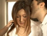 Anna Mitsu Japanese babe gets a fucking with horny guys