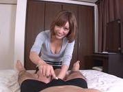 Amazing milf Kirara Asuka gives amazing handjob