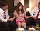 Arousing hottie Kokone Mizutani loves having hard sex