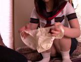 Naughty Ai Uehara loves to suck and fuck picture 15
