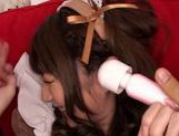 Extremely sexy Japanese maid Tsubasa Amami squirts picture 12