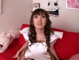 Extremely sexy Japanese maid Tsubasa Amami squirts