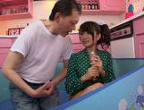 Horny Ruri Nanasawa likes it in dirty porn picture 13
