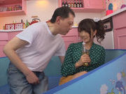 Horny Ruri Nanasawa likes it in dirty pornasian schoolgirl, young asian}