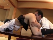 Frisky Asian schoolgirl Tsukada Shiori enjoys hardcore gangbangcute asian, asian ass}