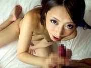 Petite Japanese amateur milf Ayu Sakurai gives a cute mouth jobasian women, japanese porn}