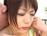 Nao Tachibana Asian model gets a hard fucking