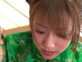 Stunning Yuuna Mizumoto gets into a hot gangbang picture 13