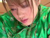 Stunning Yuuna Mizumoto gets into a hot gangbang picture 15