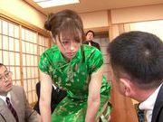 Stunning Yuuna Mizumoto gets into a hot gangbang