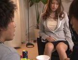 Japanese av model is horny and eager for sex picture 11