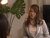 Japanese av model is horny and eager for sex picture 1