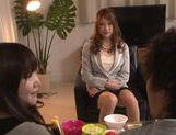 Japanese av model is horny and eager for sex picture 8